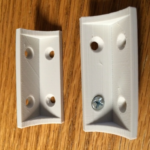 Shelf bracket / brace 3D Print 106494