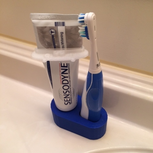 Toothbrush, toothpaste stand, holder, organizer 3D Print 106498