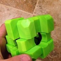 Small Rubiks Void Oddity Cube (fully printable) 3D Printing 106574