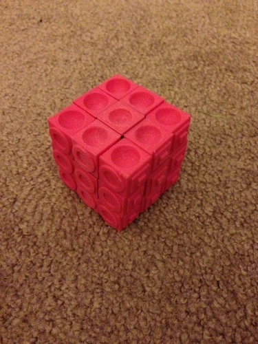 Rubiks cube for the blind (using original Rubiks core) 3D Print 106601