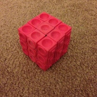 Small Rubiks cube for the blind (using original Rubiks core) 3D Printing 106601