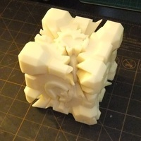 Small Screwless Companion Cube Gears 3D Printing 106633