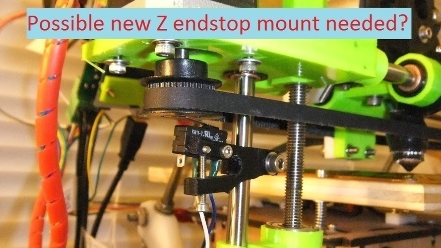 Loches Z Axis Upgrade for MakerGear Prusa Mendel 3D Print 106648