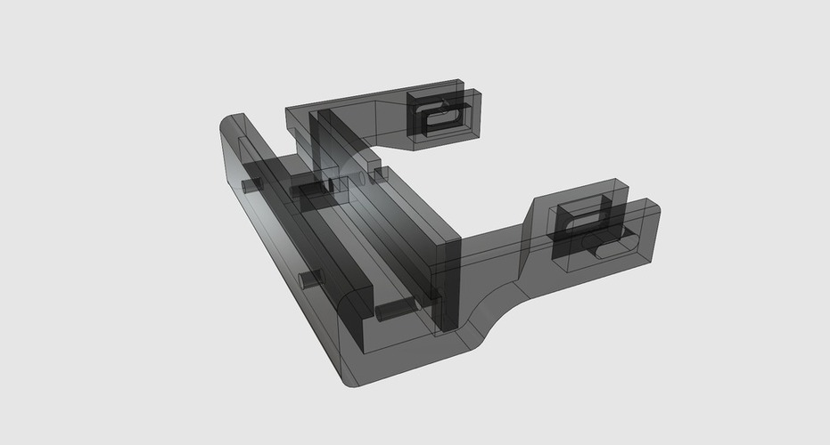 BigBox Adjustable Brushed Wiper 3D Print 106687