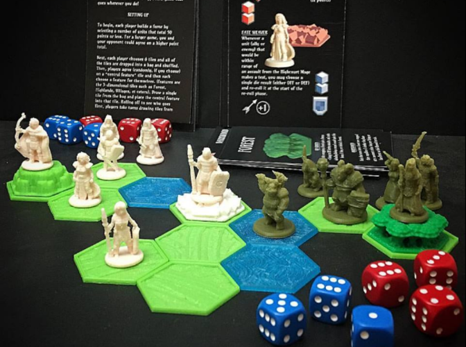 Pocket-Tactics: Core Set 1 (Fourth Edition) 3D Print 106715