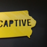 Small Iowa Captive 3D Printing 106803