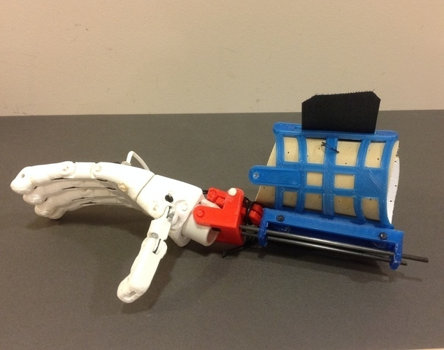 Prosthetic Hand for designers to experience 3D Print 106861