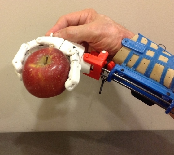 Prosthetic Hand for designers to experience 3D Print 106864