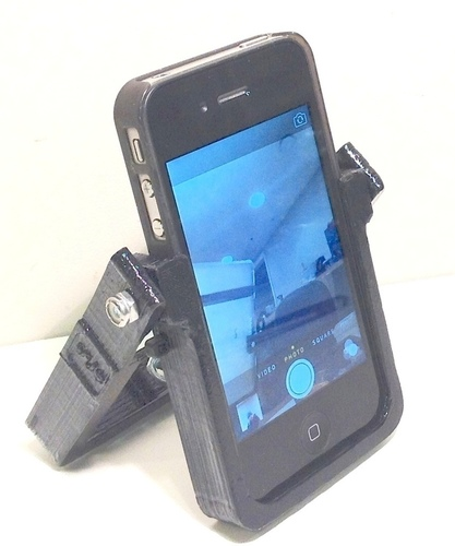 HandleStand for iPhone 3D Print 106894