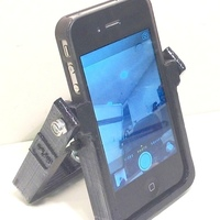 Small HandleStand for iPhone 3D Printing 106894