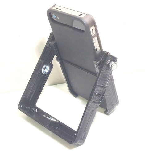 HandleStand for iPhone 3D Print 106898