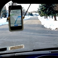 Small Hands-Free GPS using iPhone 3D Printing 106899