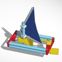 Small Straw-Cat Sailboat 3D Printing 106906