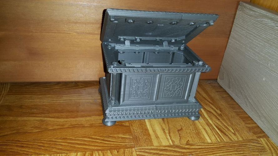 3d printed box coffre renaissance xvi me by nop21 for Case container 974