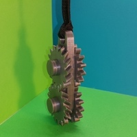Small Gears keychain - porte clés engrenages 3D Printing 107069