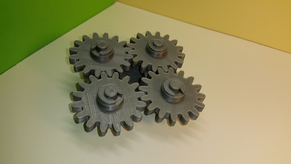 Medium Gears 4 -Engrenages -4 3D Printing 107095