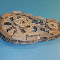 Small Gears rotating system - Chaîne pignons - 3D Printing 107105