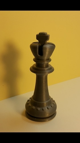 Chess - pièces - le Roi- The King 3D Print 107282