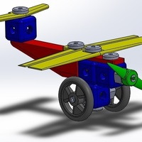 Small Plane puzzle 3D Printing 107538