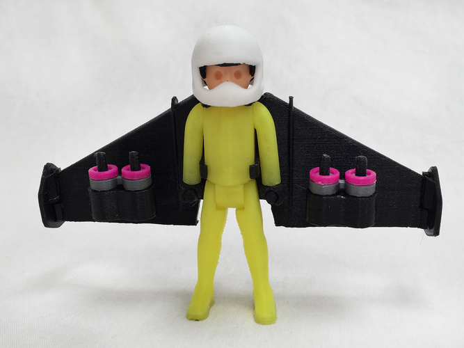 Jetman by Playaction 3D Print 107575