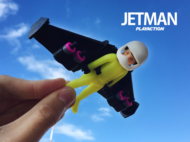 Jetman by Playaction 3D Print 107579