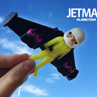 Small Jetman by Playaction 3D Printing 107579