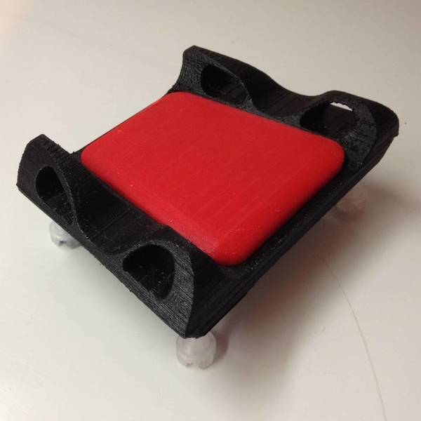 Medium Adjustable Elbow Rest for mouse 3D Printing 107591