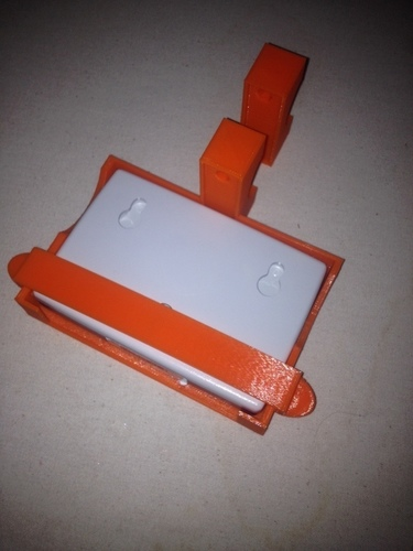 SunPass and PikePass Holder for Motocycles 3D Print 107616