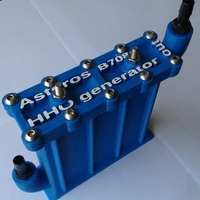 Small Asteros B708a 3d printed Hydrogen Generator 3D Printing 107631