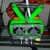 Small Snap on fan holder for Creatr and XL - final version 3D Printing 107677