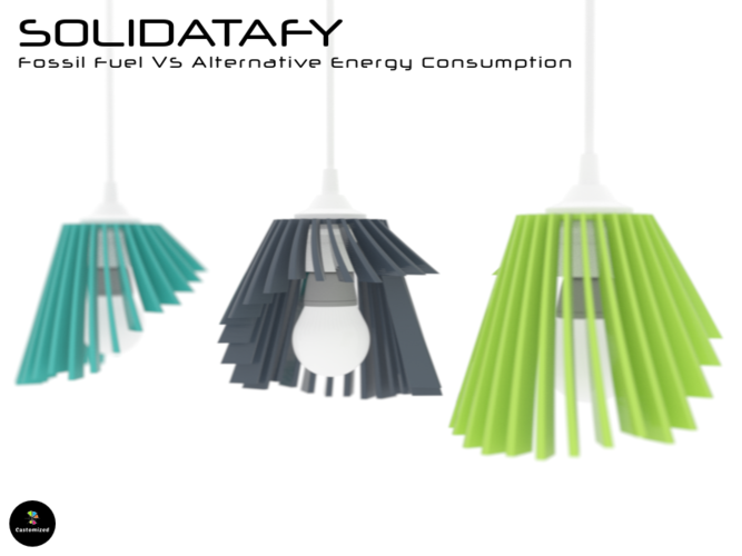Solidatafy - Energy Consumption 3D Print 107768