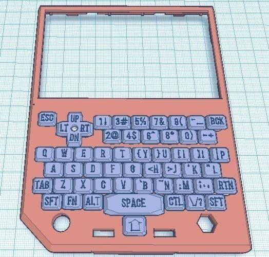 3D Printed Pocketchip Cover 2 by midheaventech | Pinshape