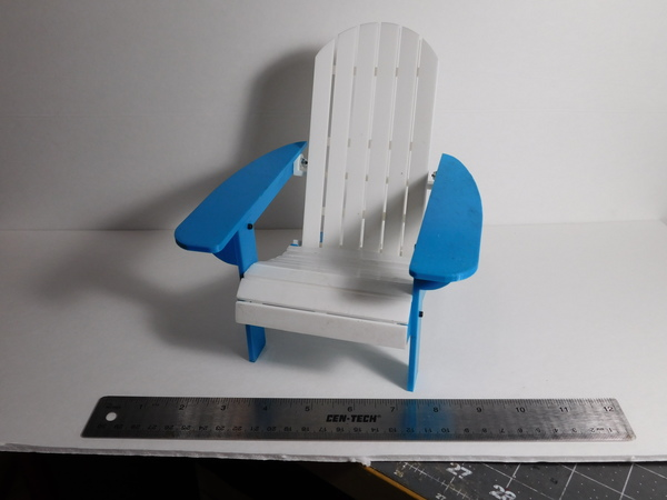 Medium Adirondack Chair 3D Printing 107834