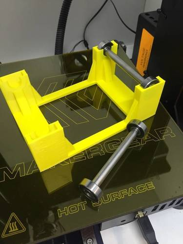 Simple Universal Spool Holder 3D Print 107841