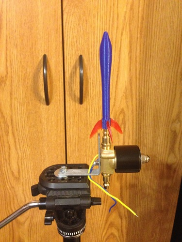 Rocket Science -- Canned Air Rocket 3D Print 107860