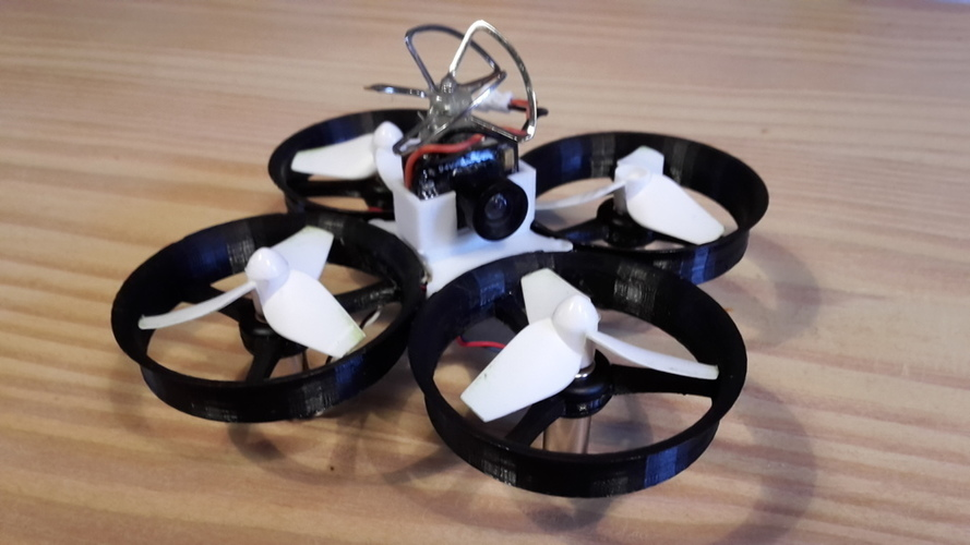 Tiny Whoop 68mm polycarbonate cross fashion 3D Print 107913