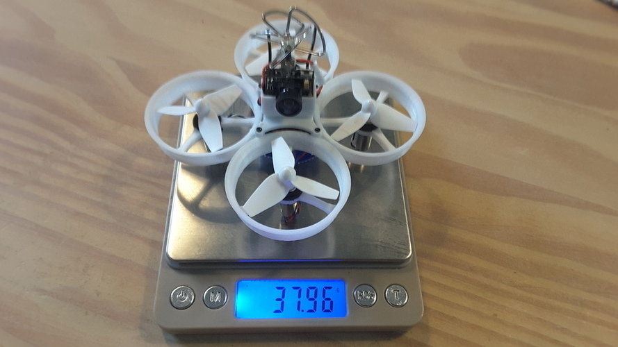 Tiny Whoop 68mm polycarbonate cross fashion 3D Print 107914