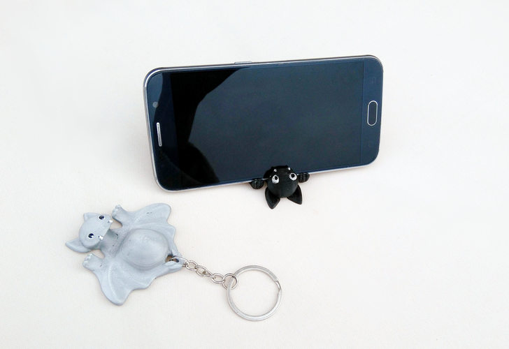 Bat Smarphone Stand 3D Print 107942