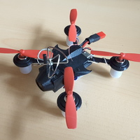 Small Micro Quad-racer 2S 90mm polycarbonate 3D Printing 107945