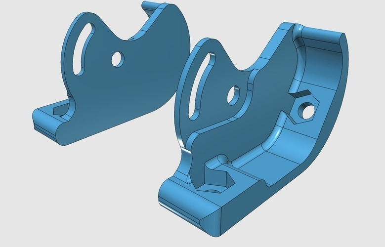 RunCam Swift bracket for the Carbon Hornet 2B 3D Print 107997