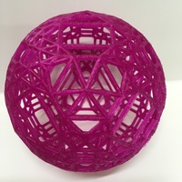 Small Hyperbolic polytope for d=-11782 3D Printing 108006
