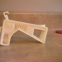 Small Rubber Band Gun, No assembly required! 3D Printing 108015
