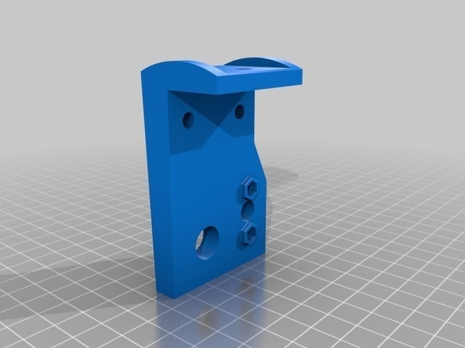 Z axis rod/screw Mount #2 (modded) Max Micron and other Prusa i3 3D Print 108088