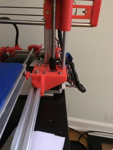 Z Motor Mounts (Max Micron and other Prusa i3 clones) 3D Print 108104