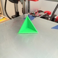 Small Triangle Square 3D Printing 108110