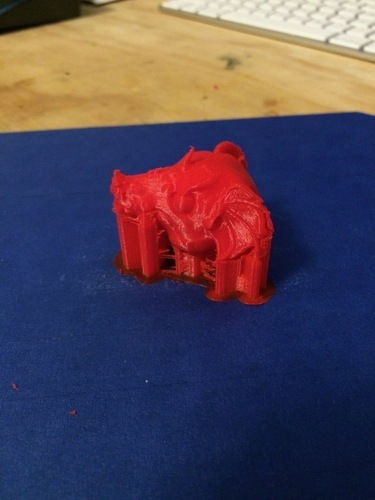 Dragon Head 3D Print 108147