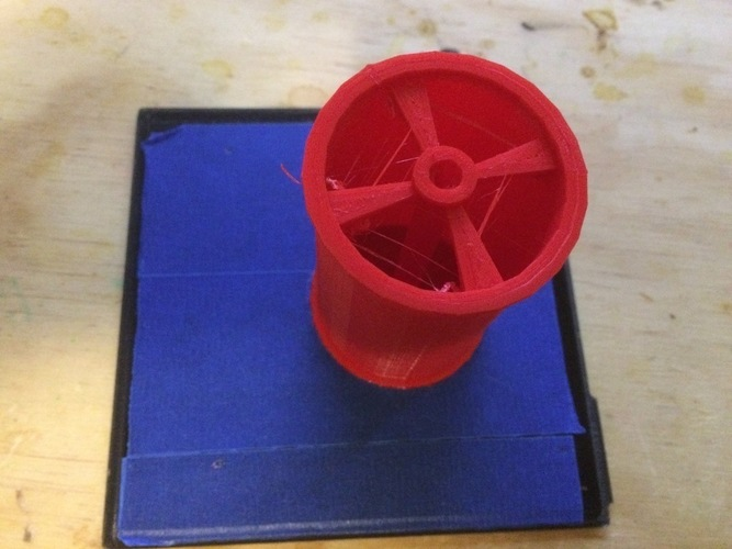 Spool spindles for use with 3x6x2mm bearings  3D Print 108205