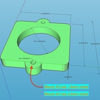 Small Camera mount. 3D Printing 108228