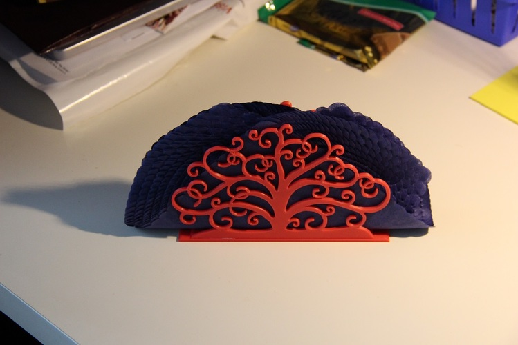 Tree of life napkin holder 3D Print 10824