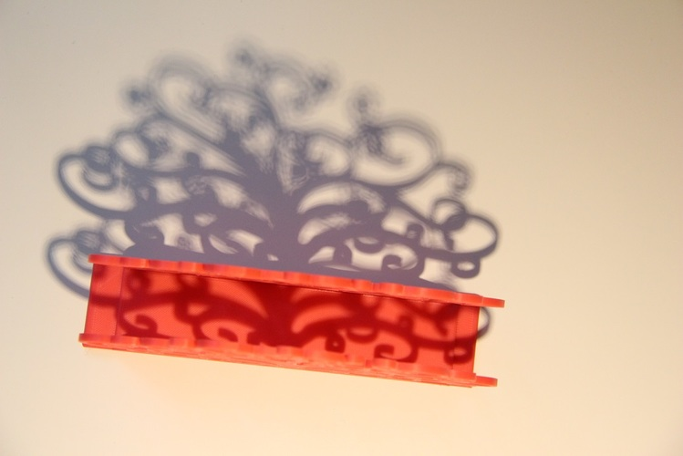 Tree of life napkin holder 3D Print 10827